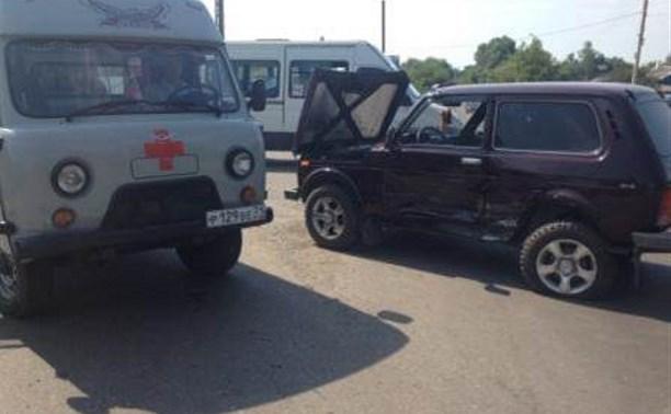 В ДТП в Кимовске пострадал мужчина