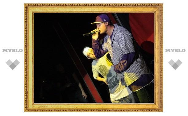 Рэперы «Каста» научили туляков позитиву