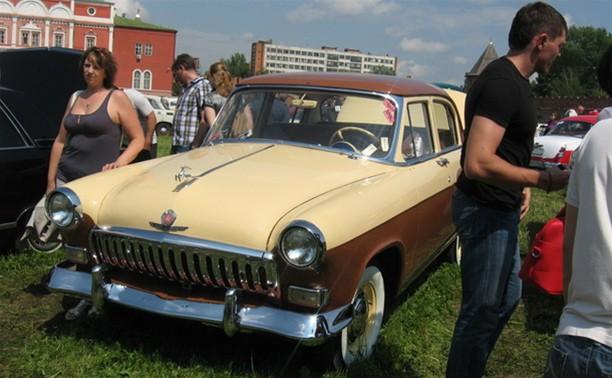 Тульский Кремль представит ретро-автомобили