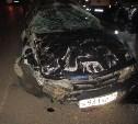 В Тульской области иномарка влетела на полуприцеп грузовика и раздавила там двух мужчин