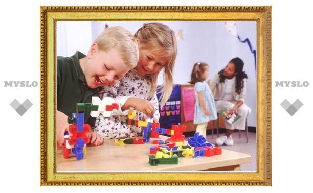 Новые места в детсадах не создавались в Туле уже 10 лет