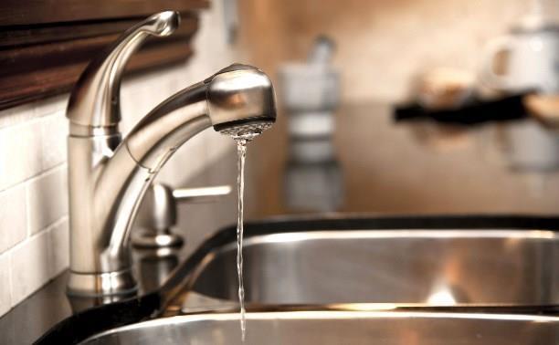 Южная часть Тулы снова останется без воды