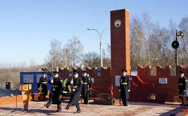 В Дубенском районе появился памятник сотрудникам Федеральной службы охраны