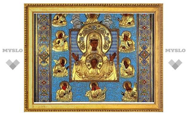 Завершилось пребывание чудотворной иконы «Знамение» Курская Коренная на исконной родине