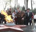 В Белёве зажгли Вечный огонь на мемориале в честь погибших в годы войны