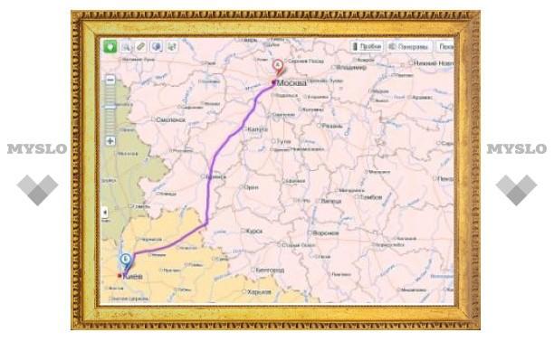 """""""Яндекс.Карты"""" научились прокладывать маршруты по России"""