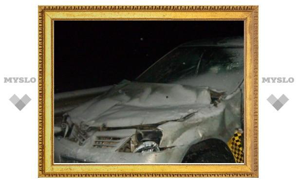 В ДТП из 30 машин под Тулой виноват таксист?