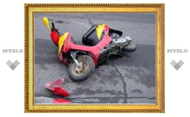 В Туле снова ДТП с подростком и скутером