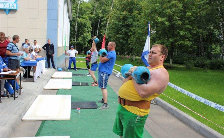 В Туле прошли соревнования по гиревому двоеборью
