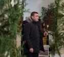Алексей Дюмин посетил Рождественское богослужение