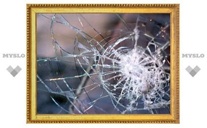 Туляк специально разбил стекло припаркованной машины