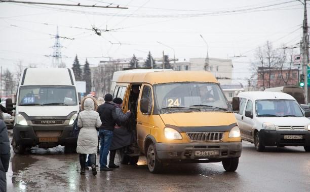 Тульские гаишники проверили, как работают водители маршруток