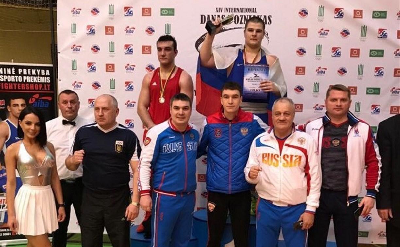 Щекинский боксёр завоевал  золото на международном турнире в Литве