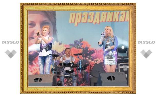В Новомосковске выступила группа «Мираж»