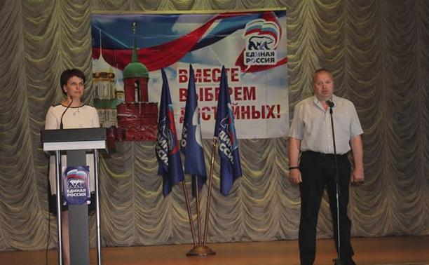 Алексинцы предлагают Владимиру Груздеву возглавить список «Единой России»