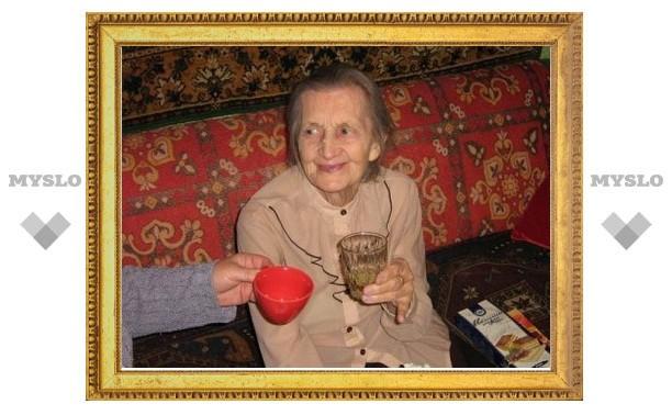 Президент поздравил тулячку, которой исполнилось 100 лет