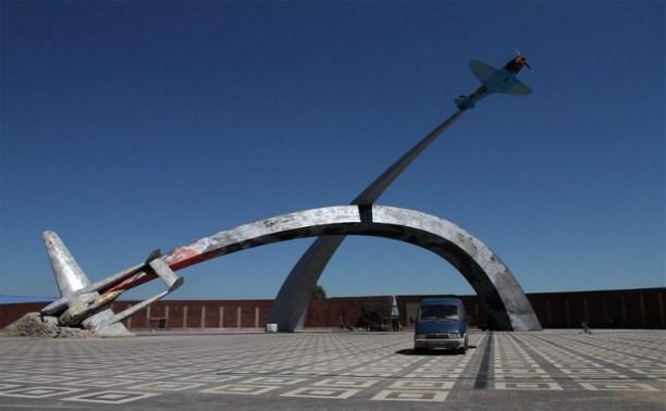 У мемориала «Защитникам неба Отечества» начали монтаж Вечного огня