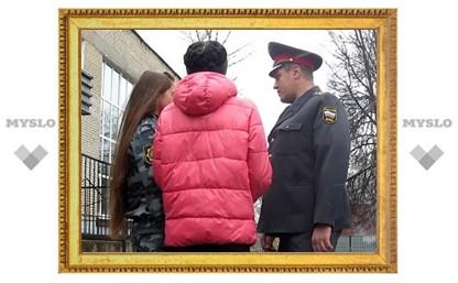 Тульских школьниц, помогших поймать преступников, отблагодарят в полиции