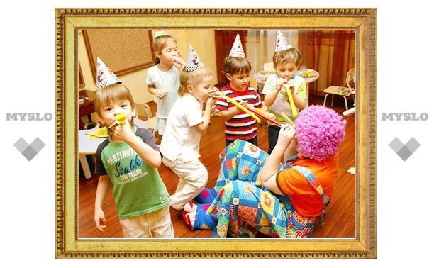 Юные туляки подарили праздник детям
