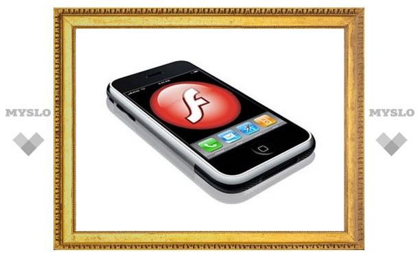 Adobe перенесла Flash-приложения на iPhone