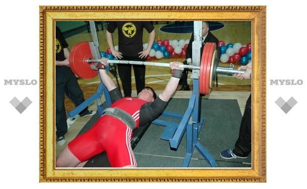 Тульские силачи бьют рекорды России