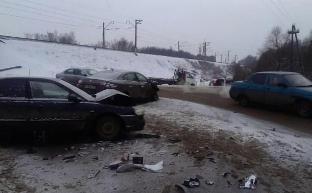 6 января в Тульской области произошло 14 ДТП с пострадавшими