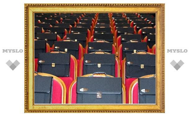 В Туле за 2012 год сократилось количество чиновников