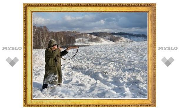 В Новомосковске закрыт сезон охоты на зайца, но продолжается отстрел расплодившихся лис