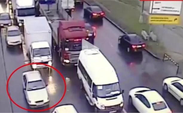 В Московской области нашли предполагаемую машину банды GTA