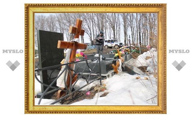 На кладбище в Киреевском районе поломали кресты