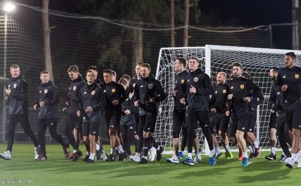 «Арсенал» провел первую тренировку в Турции