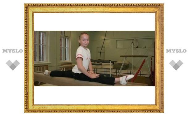Тульская гимнастка выступала, превозмогая боль