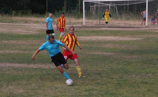 Чемпионат Тульской области по футболу среди ветеранов достиг экватора