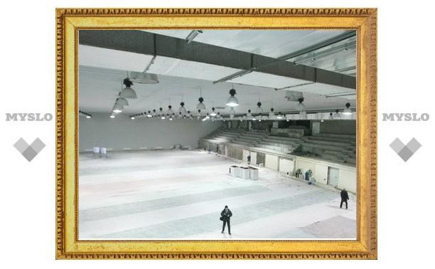 В Новомосковске откроют Ледовый дворец