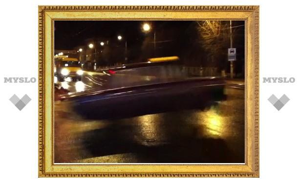 На улице в Туле замечено «летающее» такси
