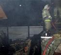 В Ленинском районе сгорела дача