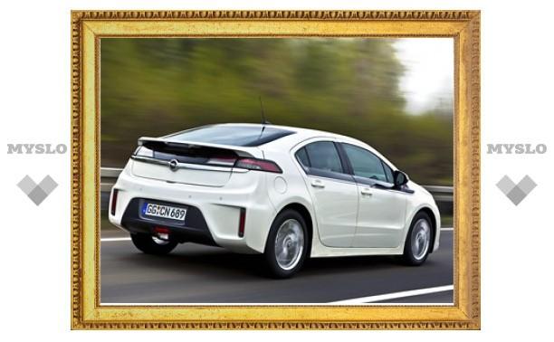 Первый гибрид Opel будет стоить 43 тысячи евро