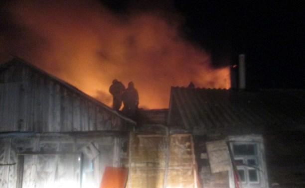 В Донском при пожаре погиб мужчина