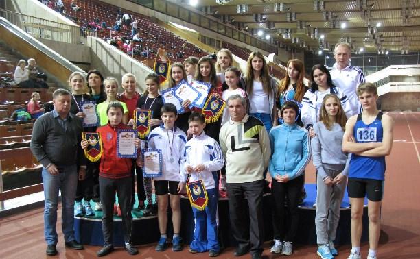 Тульские легкоатлеты завоевали 17 медалей на стартах в Москве