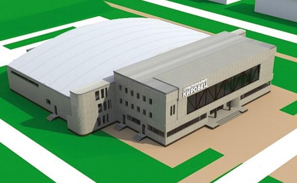 В новом спорткомплексе появится современный бассейн