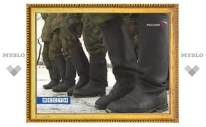 В Чечне дезертировал вооруженный солдат