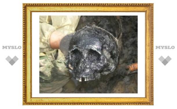 Под Тулой сгорела женщина