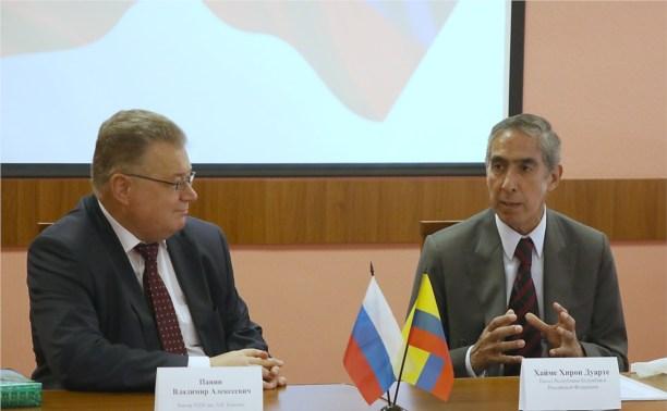 Посол Республики Колумбия посетил тульских студентов