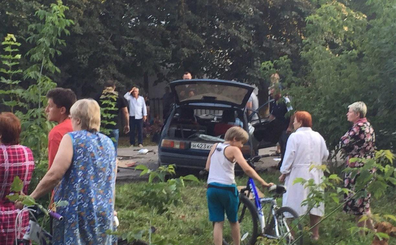 В Щёкино погоня за пьяным водителем закончилась ДТП