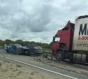 В массовом ДТП в Тульской области пострадали пять человек