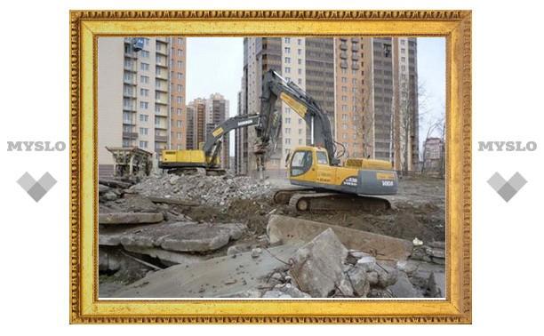 Тульские строители будут оштрафованы за грязь и мусор