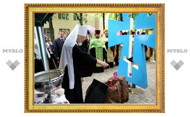 Предстоятель Украинской Православной Церкви освятил место под университетский храм во имя прп. Нестора Летописца