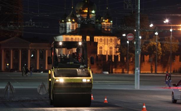 На проспекте Ленина уложили асфальт с 5-летней гарантией