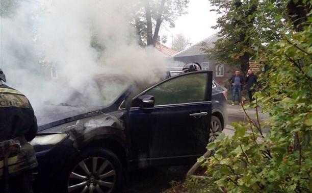 В Туле сгорели еще два автомобиля