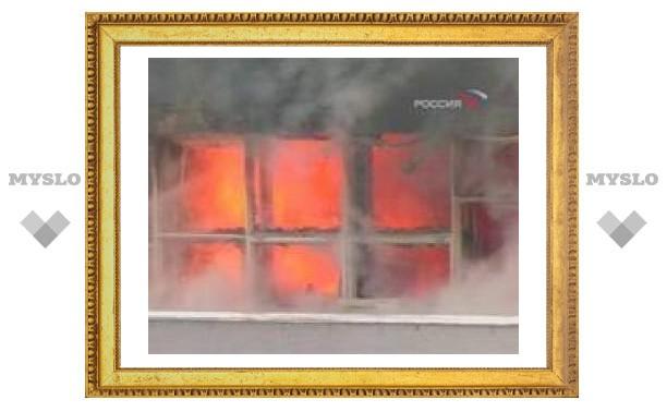В Красноярском крае из горящей больницы спасли 60 человек